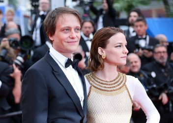 Valerie Pachner and August Diehl attend the Cannes Film Festival