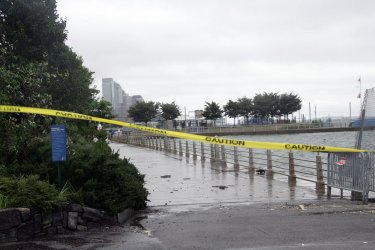 Hurricane Irene Aftermath in New York