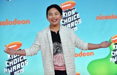 Albert Tsai attends Kids' Choice Awards 2019