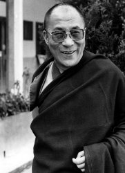 HIS HOLINESS THE DALAI LAMA IN 1985 FILE PHOTO