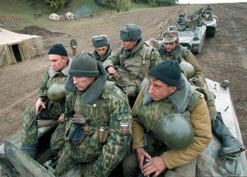 Russian Troops in Chchnya