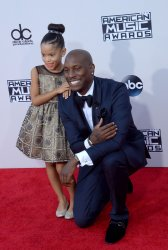 Tyrese attends the 43rd annual American Music Awards in Los Angeles