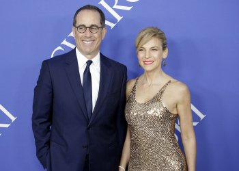 Jerry Seinfeld and Jessica Seinfeld at the 2018 CFDA Fashion Awards