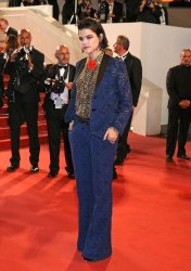 Soko attends the Cannes Film Festival