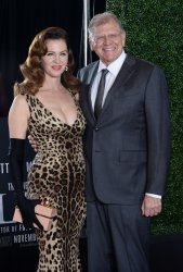 """Robert Zemeckis and Leslie Harter Zemeckis attend the """"Allied"""" premiere in Los Angeles"""