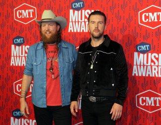 Brothers Osborne arrives for the 2019 CMT Music Awards in Nashville