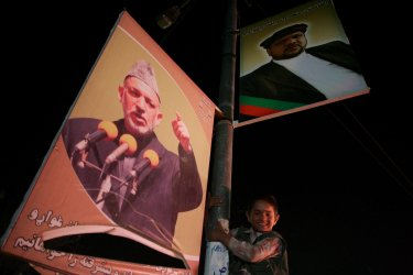 Presidential election in Afghanistan