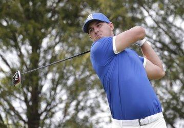 Brooks Koepka at the PGA Championship at Bethpage Black