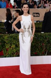 Julianna Margulies attends the 22nd annual Screen Actors Guild Awards