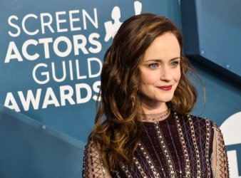 Alexis Bledel attends the 26th annual SAG Awards in Los Angeles