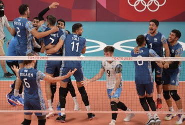 USA vs Argentina Men's Volleyball at the Tokyo Olympics
