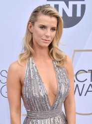 Betty Gilpin attends the SAG Awards in Los Angeles