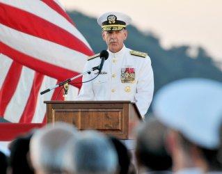 U.S. Navy, Seventh Fleet Change of Command ceremony in Japan