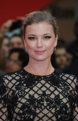 Emily Vancamp attends the UK Premiere of Captain America: Civil War at Westfield in London