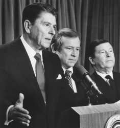 President Reagan Ensures Funding of MX Missile