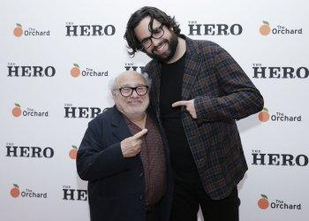 Danny DeVito and Director Brett Haley at 'The Hero' New York Premiere
