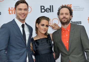 Kristen Stewart, Nicholas Hoult and Drake Doremus attend 'Equals' premiere at the Toronto International Film Festival