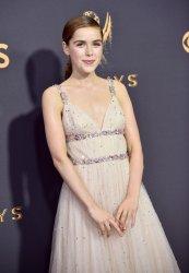 Kiernan Shipka attends the 69th annual Primetime Emmy Awards in Los Angeles