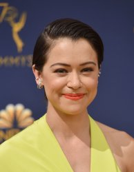 Tatiana Maslany attends the 70th annual Primetime Emmy Awards in Los Angeles