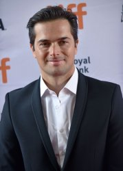 Nelson Piquet Jr. attends 'And We Go Green' premiere at Toronto Film Festival