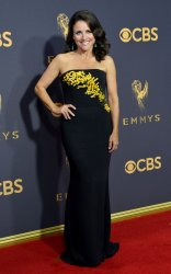 Julia Louis-Dreyfus attends the 69th annual Primetime Emmy Awards in Los Angeles