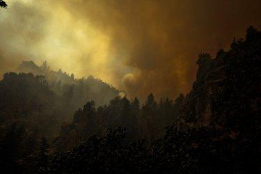 Colorado National Guard fights Colorado Wildfires