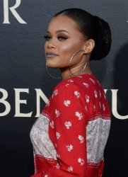 """Andra Day attends the """"Ben-Hur"""" premiere in Los Angeles"""