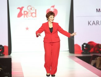 Marion Ross at American Heart Association's Go Red For Women Show