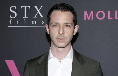 Jeremy Strong at the 'Molly's Game' New York Premiere