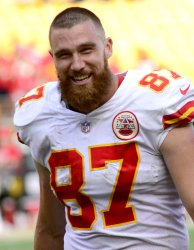 Kansas City Chiefs Tight End Travis Kelce in Pittsburgh