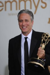 Jon Stewart wins at the Primetime Emmy Awards in Los Angeles