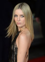 Annabelle Wallis attends Grimsby premiere in London