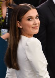 Millie Bobby Brown attends the 26th annual SAG Awards in Los Angeles