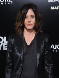 """Katherine Moennig attends """"The Lincoln Lawyer"""" premiere in Los Angeles"""
