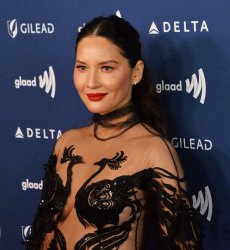 Olivia Munn attends the 30th annual GLAAD Media Awards in Beverly Hills