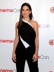 Sandra Bullock arrives at the 2013 CinemaCon in Las Vegas