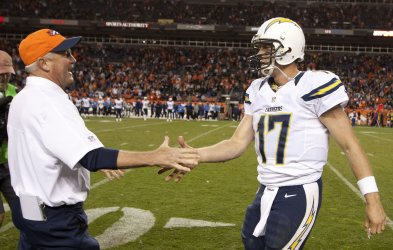 NFL San Diego Chargers vs Denver Broncos in Denver