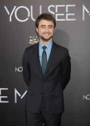 """Daniel Radcliffe arrives at the """"Now You See Me 2"""" World Premiere"""