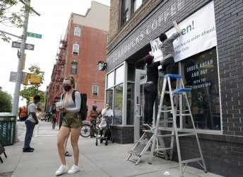 Businesses Prepare To Reopen During Pandemic In New York
