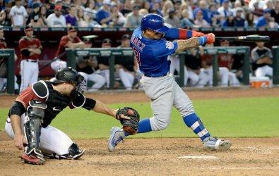 Cubs'Baez hits three run home run