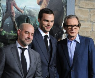 "Stanley Tucci, Nicholas Hoult and Bill Nighy attend ""Jack the Giant Slayer"" premiere in Los Angeles"