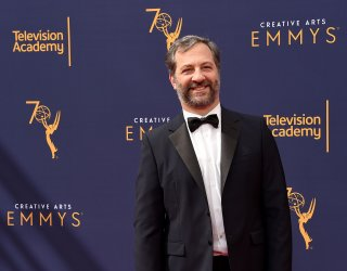 Judd Apatow attends the Creative Arts Emmy Awards in Los Angeles