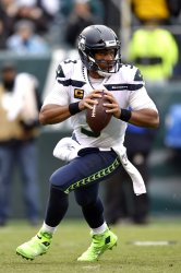 Seahawks quarterback Russell Wilson (3) throws the ball