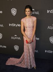 Nina Dobrev attends the InStyle and Warner Bros. Golden Globe after-party in Beverly Hills
