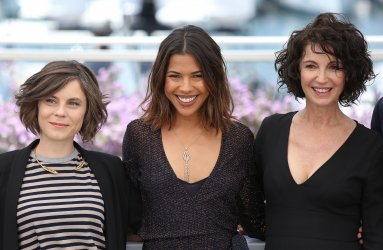 Breitman, Hanrot and Gobbe-Mevellec attend the Cannes Film Festival