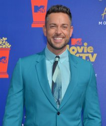 Zachary Levi attends the MTV Movie & TV Awards in Santa Monica, California