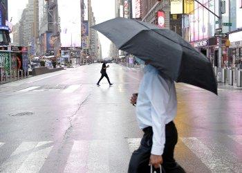 New York City Prepares for Tropical Storm Fay