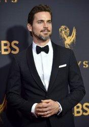 Matt Bomer attends the 69th annual Primetime Emmy Awards in Los Angeles
