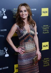 Giada De Laurentiis attends the 39th annual Daytime Emmy Awards in Beverly Hills, California..