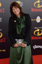 "Catherine Keener attends the ""Incredibles 2"" premiere in Los Angeles"